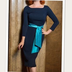 PinUp Couture Maria Stretch Fitted Wiggle Dress